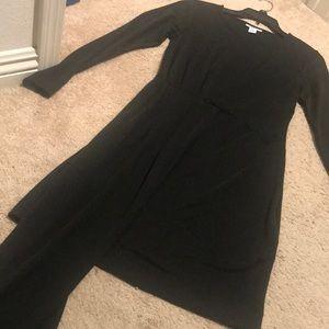 NWT Bar III Sleeveless Asymmetrical-Drape Dress